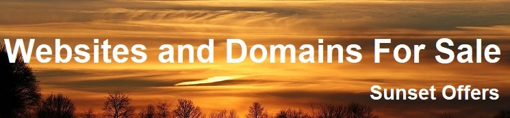 websites and domains for sale