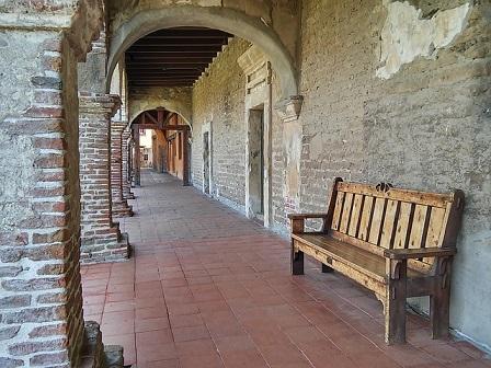 Mission San Juan Capistrano hallway
