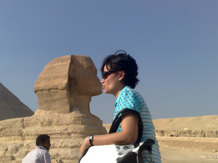 romancing the Egyptian Sphinx