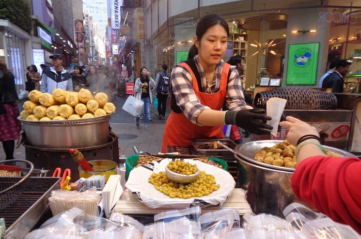food in Korea